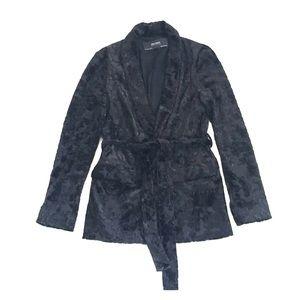 Belted sport jacket